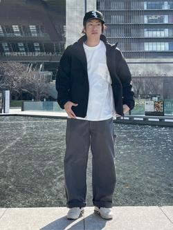 LINKS UMEDA店のKo-jiさんのEDWINの【再値下げ Winter sale】F.L.E ZIP UP ジャケットを使ったコーディネート