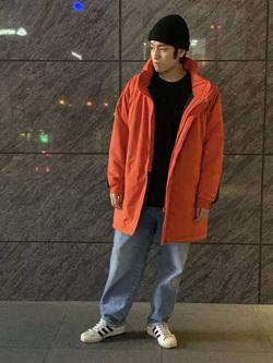 LINKS UMEDA店のKo-jiさんのEDWINのF.L.E モールスジャケット (二層防風)を使ったコーディネート