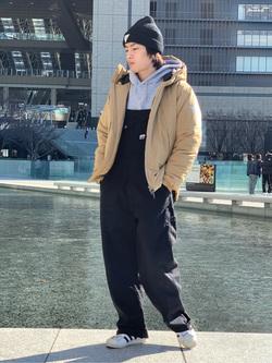 LINKS UMEDA店のKo-jiさんのEDWINの終了【決算SALE】F.L.E エアーサックジャケット (二層防風)を使ったコーディネート