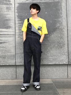 LINKS UMEDA店のKo-jiさんのEDWINの【コンセプトショップ限定】OVERALLを使ったコーディネート