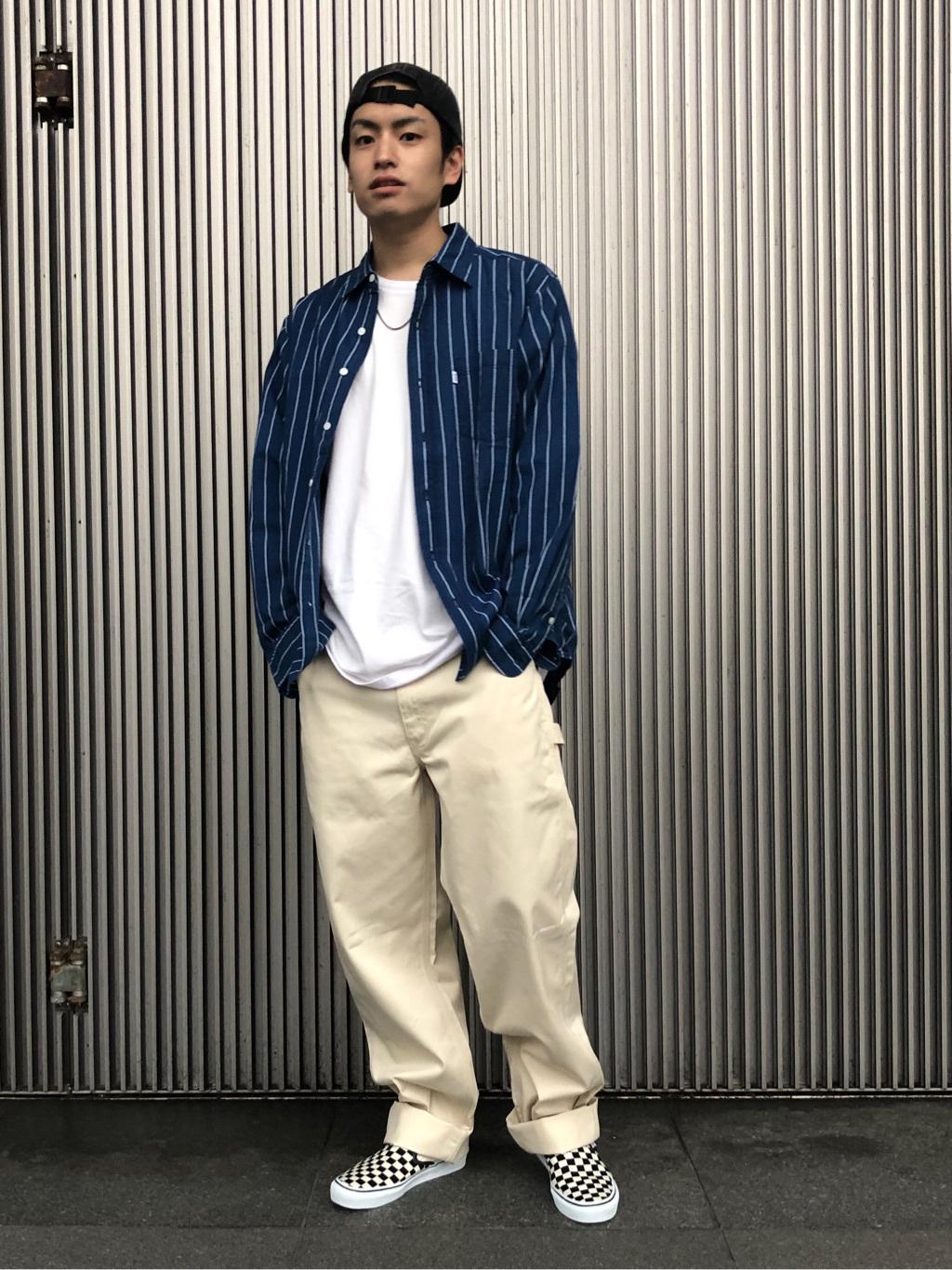 LINKS UMEDA店のKo-jiさんのEDWINの【Pre sale】【直営店限定】ペインターパンツを使ったコーディネート