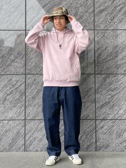 LINKS UMEDA店のKo-jiさんのEDWINの【通販限定】YELLOW TAB KATANAを使ったコーディネート