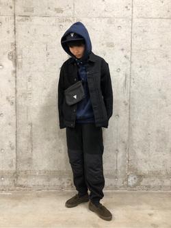 錦糸町PARCO店のEriさんのEDWINの【おうち時間応援セール】F.L.E サコッシュを使ったコーディネート