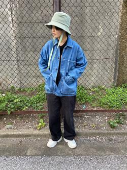 錦糸町PARCO店のEriさんのEDWINのカバーオール (USMC M-41タイプ)を使ったコーディネート
