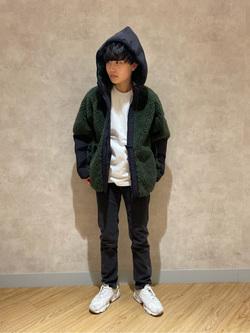 錦糸町PARCO店のEriさんのEDWINの【再値下げ Winter sale】F.L.E ボア フリースジャケットを使ったコーディネート