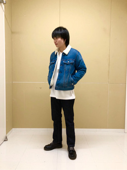 錦糸町PARCO店のEriさんのEDWINの503 レギュラーストレートを使ったコーディネート