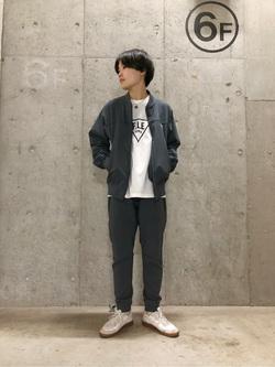 錦糸町PARCO店のEriさんのEDWINの終了【サマーセール】F.L.E プリントTシャツ 長袖 Aを使ったコーディネート
