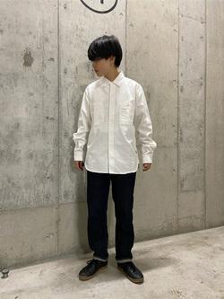 錦糸町PARCO店のEriさんのEDWINの【直営店限定】ワークシャツ 長袖(ツイル)を使ったコーディネート