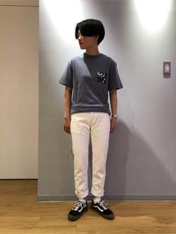 錦糸町PARCO店のEriさんのEDWINの503 スリムテーパード 【レングス73cm】を使ったコーディネート