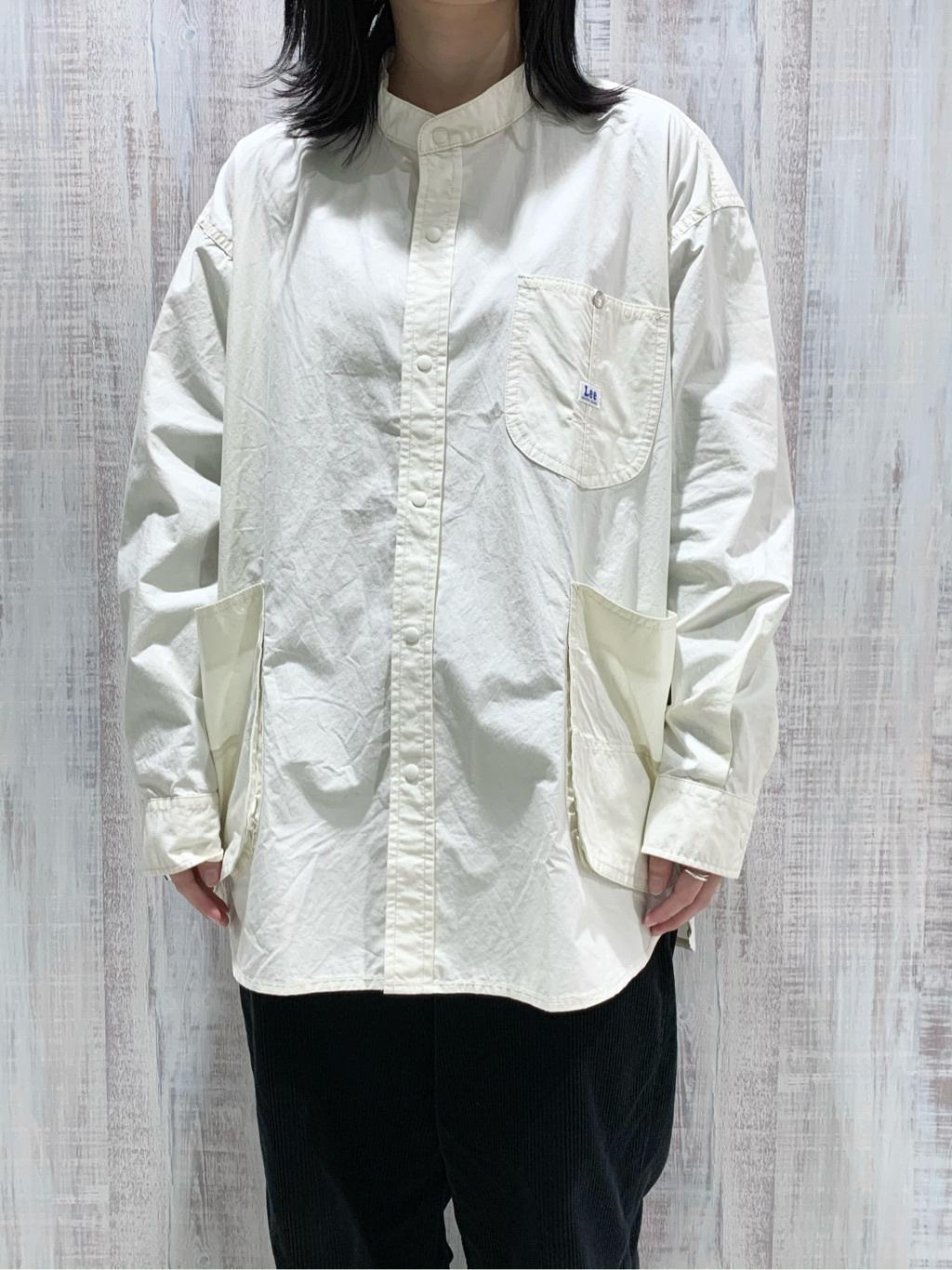 Lee 名古屋店の千さんのLeeの【直営店・WEB限定】サービスコートを使ったコーディネート
