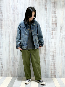 Lee 名古屋店の千さんのLeeの【Winter sale】101 PROJECT COWBOY JACKETを使ったコーディネート