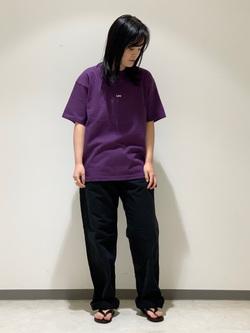 Lee 名古屋店の千さんのLeeの【ユニセックス】ヘビーウエイト Tシャツを使ったコーディネート