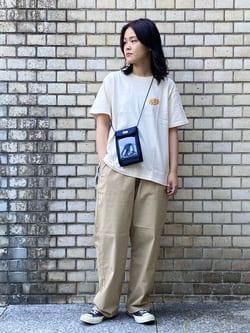 Lee 名古屋店の千さんのLeeの【SALE】チケットホルダーを使ったコーディネート