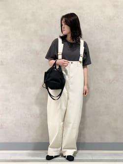 Lee 名古屋店の千さんのLeeのビッグフィット Tシャツを使ったコーディネート