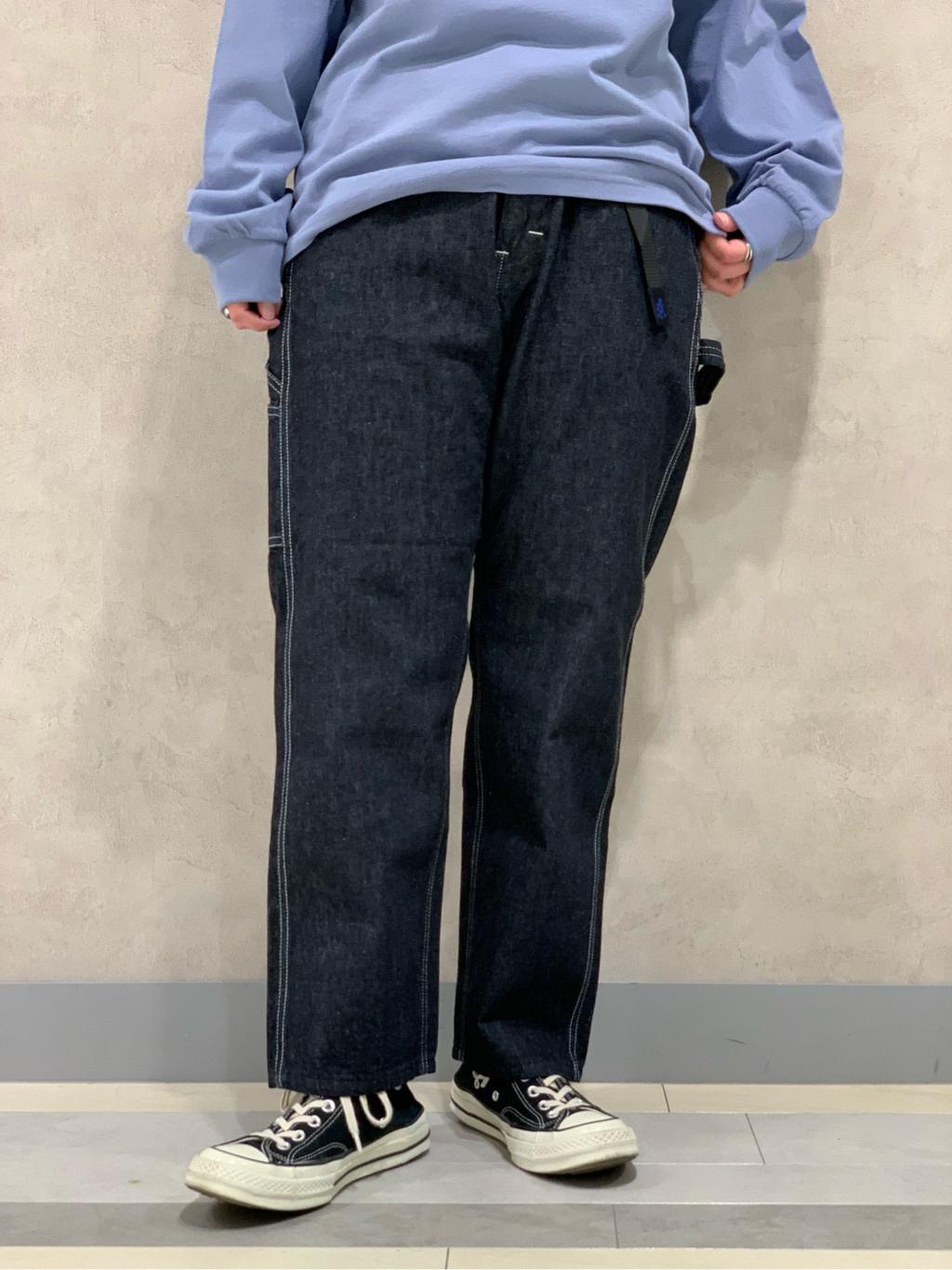 Lee 名古屋店の千さんのLeeの【予約】【Lee×GRAMICCI(グラミチ)】ルーズフィット ペインターパンツを使ったコーディネート
