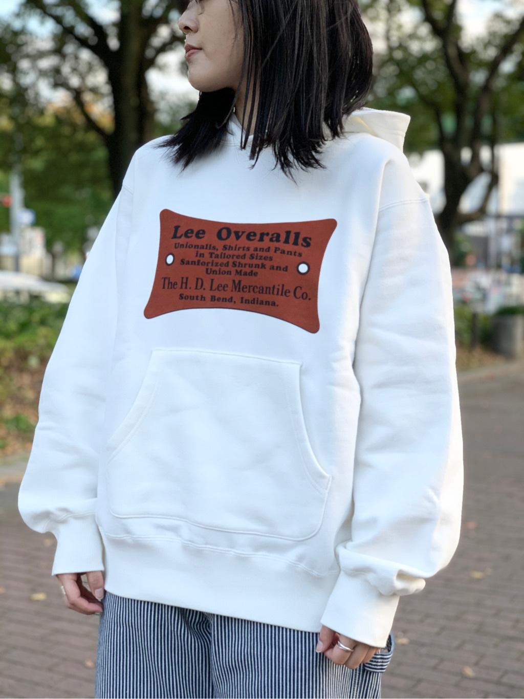 Lee 名古屋店の千さんのLeeの【ヘビーウエイト】プリントパーカー3を使ったコーディネート