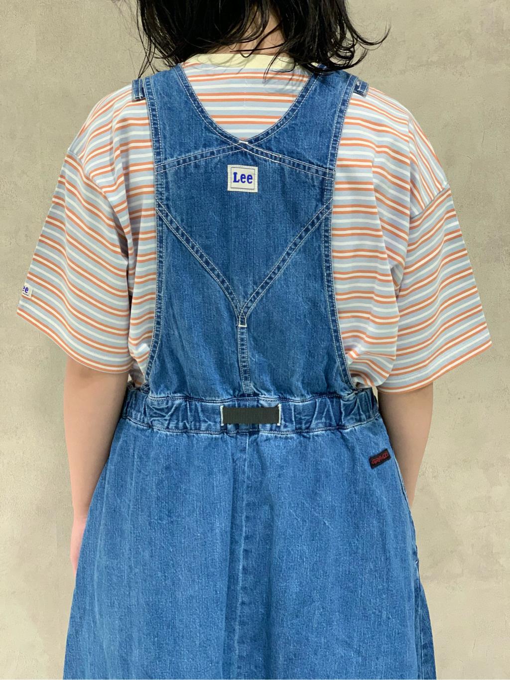 Lee 名古屋店の千さんのLeeのマルチボーダー 半袖Tシャツを使ったコーディネート