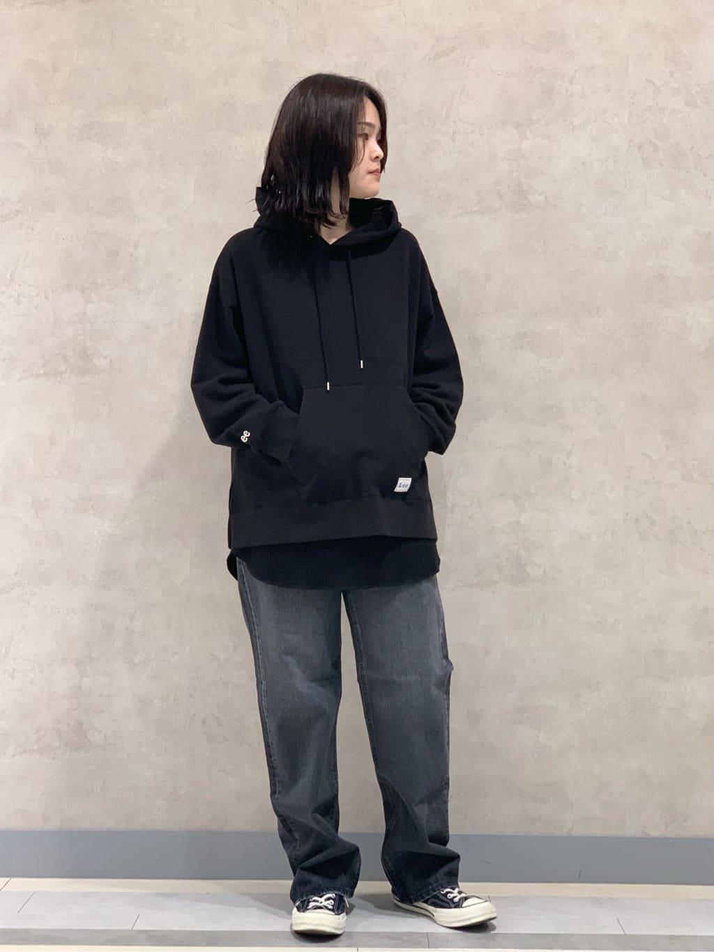 Lee 名古屋店の千さんのLeeの【otonaMUSE掲載】【毎日履きたい】ボーイズストレートパンツを使ったコーディネート