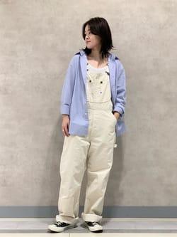Lee 名古屋店の千さんのLeeの【SALE】ベーシック ボタンダウンシャツ/長袖を使ったコーディネート