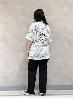 Lee 名古屋店の千さんのLeeの【予約】【Lee×GRAMICCI(グラミチ)】バックプリント 半袖Tシャツを使ったコーディネート