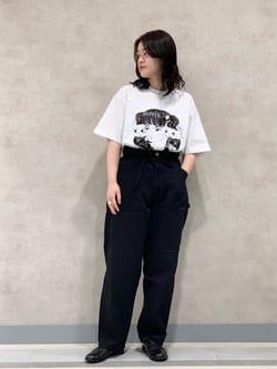 Lee 名古屋店の千さんのLeeの【SALE】【Buddy Lee100周年記念】Lee×牛木匡憲 半袖Tシャツを使ったコーディネート