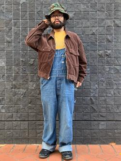 大阪店のUenoさんのLeeの【トップス15%OFFクーポン対象】【セットアップ対応】チェトパ ジャケットを使ったコーディネート