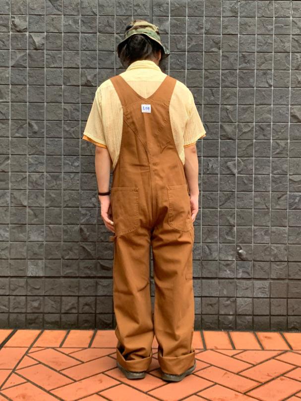 大阪店のUenoさんのLeeの【年間ベストセラー】オーバーオールを使ったコーディネート