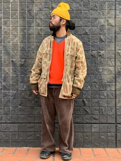 大阪店のUenoさんのLeeの【Winter sale】クルーネックスウェット 長袖を使ったコーディネート
