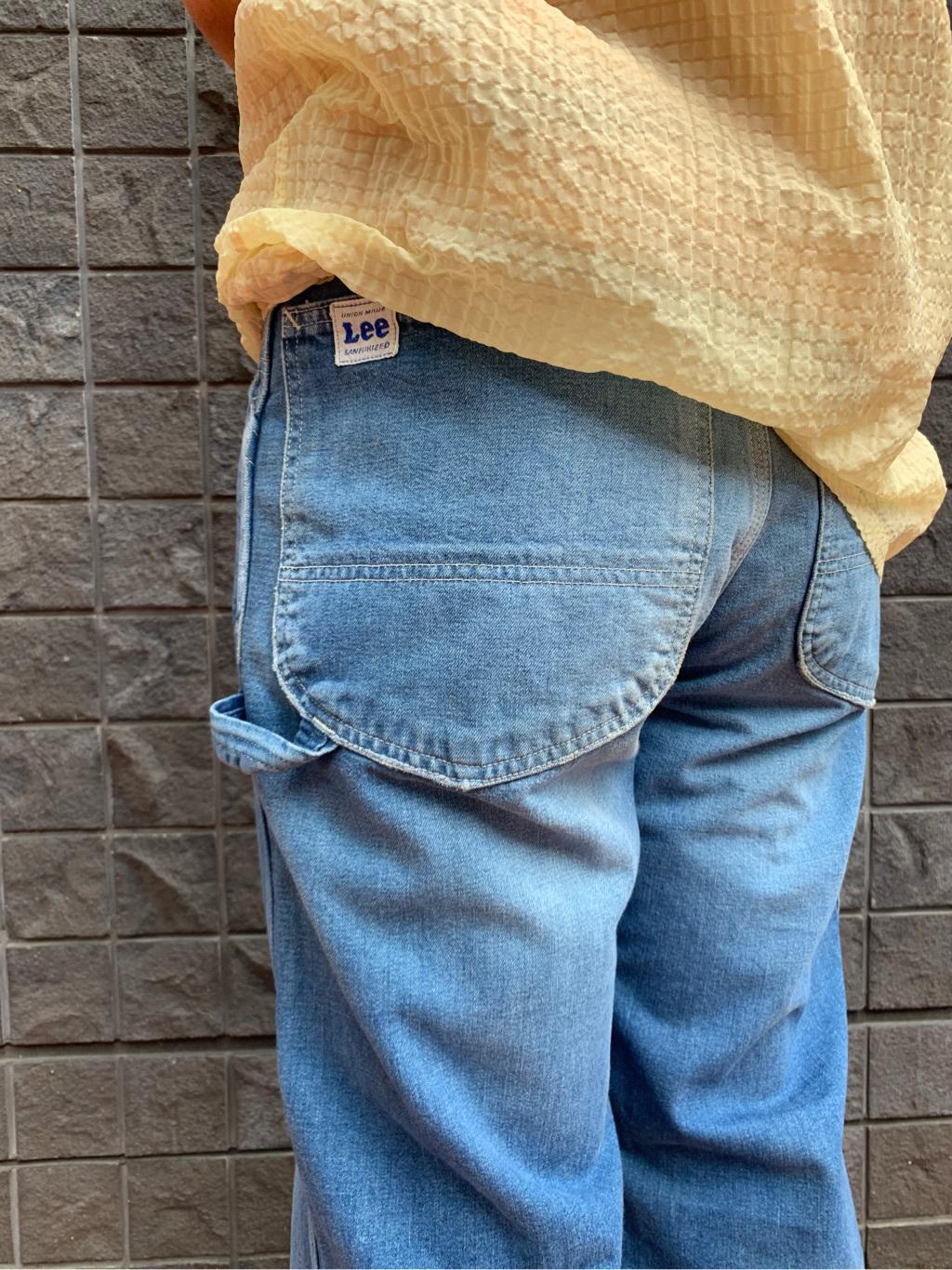 大阪店のUenoさんのLeeのARCHIVES 50S 11-W PAINTERを使ったコーディネート