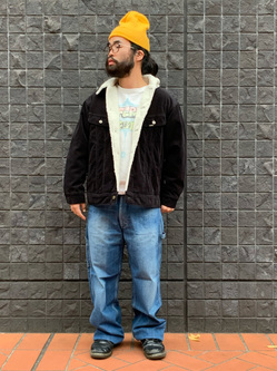 大阪店のUenoさんのLeeのBOA STORM RIDER ジャケット【コーデュロイ】を使ったコーディネート