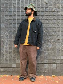 大阪店のUenoさんのLeeの101 PROJECT STORM COWBOY JACKETを使ったコーディネート