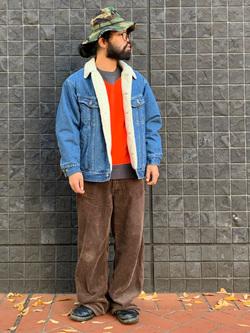 大阪店のUenoさんのLeeのBOA STORM RIDER ジャケット【デニム】を使ったコーディネート