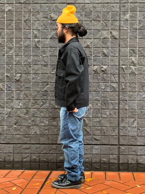 大阪店のUenoさんのLeeの101 PROJECT COWBOY JACKETを使ったコーディネート