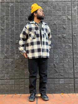 大阪店のUenoさんのLeeの【さらっと羽織れる】シャツジャケットを使ったコーディネート