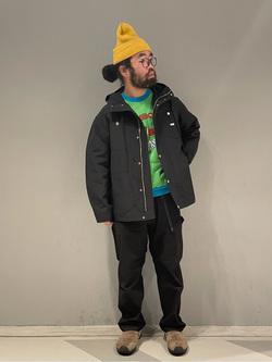 大阪店の上野さんのLeeのマウンテンパーカー/ジャケットを使ったコーディネート