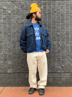 大阪店のUenoさんのLeeの【Winter sale】【セットアップ対応】チェトパ ジャケットを使ったコーディネート