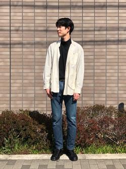 堀江店のにいみさんのLeeの【直営店・WEB限定】ビッグポケット シャツジャケットを使ったコーディネート