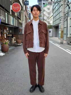 堀江店のにいみさんのLeeの【セットアップ対応】チェトパ ジャケットを使ったコーディネート