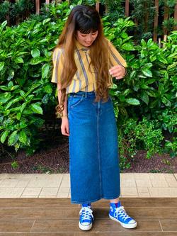 Lee 武蔵小杉店のMiharuさんのLeeの終了【再値下げ!サマーセール】オープンカラーシャツ 半袖を使ったコーディネート