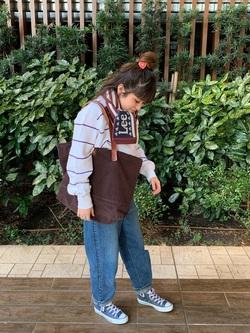 Lee 武蔵小杉店のMiharuさんのLeeの終了【おうち時間応援セール】ボーダースウェットを使ったコーディネート