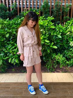 Lee 武蔵小杉店のMiharuさんのLeeの終了【サマーセール】RESORT サファリジャケットを使ったコーディネート