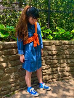 Lee 武蔵小杉店のMiharuさんのLeeのワークドレスを使ったコーディネート