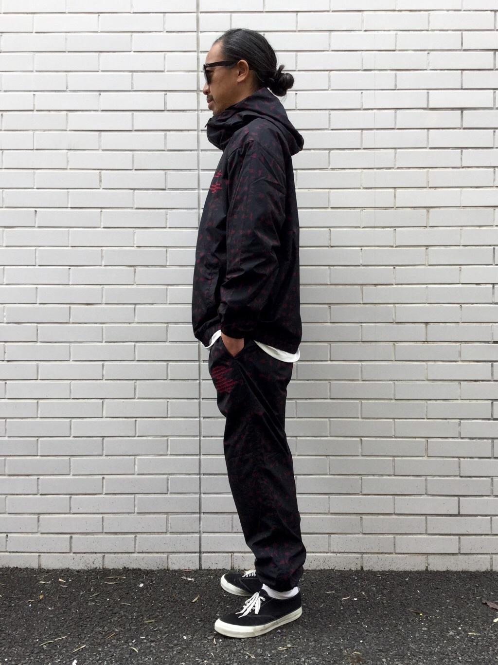 TOKYO HARAJUKU店のKEITAROさんのEDWINの【ガレージセール】【コンセプトショップ限定】EDWIN×ZOO YORK PRINT JACKETを使ったコーディネート