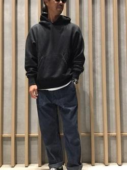 TOKYO HARAJUKU店のKEITAROさんのEDWINの【コンセプトショップ限定】HOODIEを使ったコーディネート