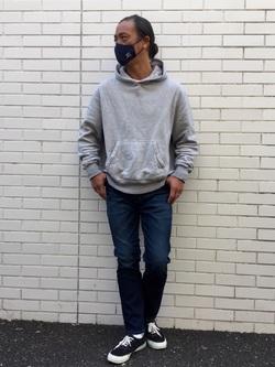 TOKYO HARAJUKU店のKEITAROさんのEDWINのジャージーズ スリムテーパード【スタンダードモデル】を使ったコーディネート