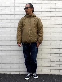 TOKYO HARAJUKU店のKEITAROさんのEDWINの【コンセプトショップ限定】REGULAR STRAIGHT KIBATA 【レングス81.5cm】を使ったコーディネート