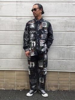 TOKYO HARAJUKU店のKEITAROさんのEDWINの【EDWIN x KIDILL x JESSE DRAXLER】BIGFIT WORK SHIRTを使ったコーディネート