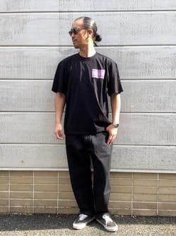 TOKYO HARAJUKU店のKEITAROさんのEDWINの【コンセプトショップ限定】EDWIN EUROPE PRO HEALER TEEを使ったコーディネート