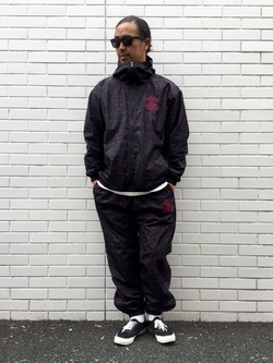 TOKYO HARAJUKU店のKEITAROさんのEDWINの【コンセプトショップ限定】EDWIN×ZOO YORK PRINT JACKETを使ったコーディネート