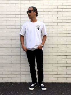 TOKYO HARAJUKU店のKEITAROさんのEDWINの【コンセプトショップ限定】EDWIN EUROPE SLIM TAPEREDを使ったコーディネート